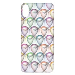 Valentine Hearts Iphone X/xs Soft Bumper Uv Case