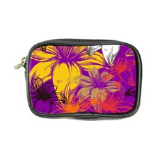 Fancy Tropical Floral Pattern Coin Purse by tarastyle