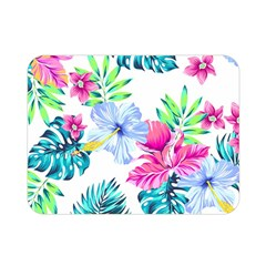 Fancy Tropical Floral Pattern Double Sided Flano Blanket (mini)  by tarastyle