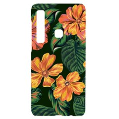 Fancy Tropical Floral Pattern Samsung A9 Black Uv Print Case by tarastyle