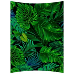 Fancy Tropical Floral Pattern Back Support Cushion by tarastyle