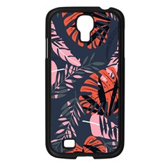 Fancy Tropical Floral Pattern Samsung Galaxy S4 I9500/ I9505 Case (black) by tarastyle