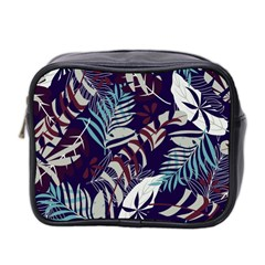 Fancy Tropical Floral Pattern Mini Toiletries Bag (two Sides) by tarastyle