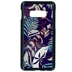 Fancy Tropical Floral Pattern Samsung Galaxy S10e Seamless Case (black) by tarastyle