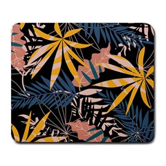 Fancy Tropical Floral Pattern Large Mousepads by tarastyle