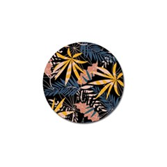 Fancy Tropical Floral Pattern Golf Ball Marker (10 Pack) by tarastyle