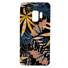 Fancy Tropical Floral Pattern Samsung Galaxy S9 Tpu Uv Case