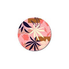 Fancy Tropical Floral Pattern Golf Ball Marker (4 Pack) by tarastyle