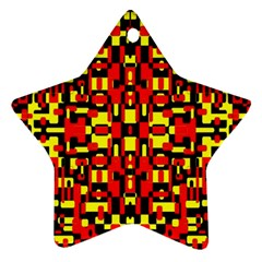 Abp Rby-2 Star Ornament (two Sides) by ArtworkByPatrick
