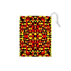 Abp Rby-2 Drawstring Pouch (small) by ArtworkByPatrick