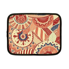 Pop Art Paisley Flowers Ornaments Multicolored 4 Netbook Case (small)