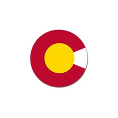 Colorado State Flag Symbol Golf Ball Marker (10 Pack) by FlagGallery