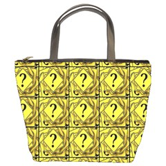 Questions Bucket Bag by ArtworkByPatrick