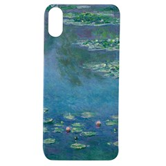 Waterlilies By Claude Monet Apple Iphone Xs Tpu Uv Case