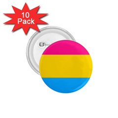 Pansexual Pride Flag 1 75  Buttons (10 Pack) by lgbtnation