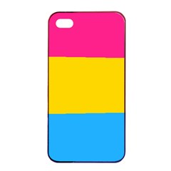 Pansexual Pride Flag Iphone 4/4s Seamless Case (black) by lgbtnation