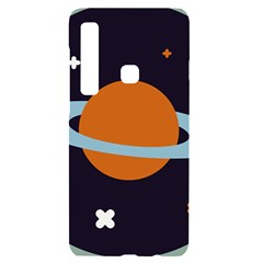 Planet Orbit Universe Star Galaxy Samsung A9 Black Uv Print Case