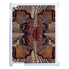 Abstract Design Backdrop Pattern Apple Ipad 2 Case (white) by Pakrebo