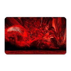Planet Hell Hell Mystical Fantasy Magnet (rectangular) by Pakrebo