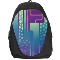 Non Seamless Pattern Background Backpack Bag