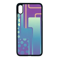 Non Seamless Pattern Background Iphone Xs Max Seamless Case (black) by Pakrebo