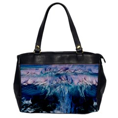Sea Waves Ocean Water Beach Surf Oversize Office Handbag by Pakrebo