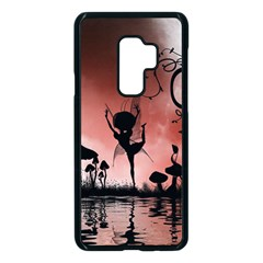 Little Fairy Dancing In The Night Samsung Galaxy S9 Plus Seamless Case(black)