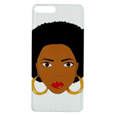 African American Woman With ?urly Hair Apple Iphone 7/8 Plus Tpu Uv Case