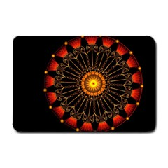 Ornaments Filigree Bright Small Doormat  by Pakrebo