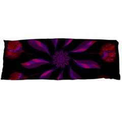 Background Purple Black Red Body Pillow Case (dakimakura) by Pakrebo