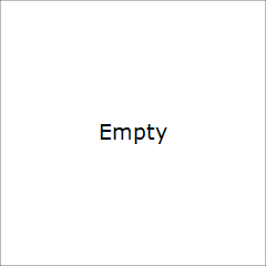 Brazil Flag Outline Black Button Necklace