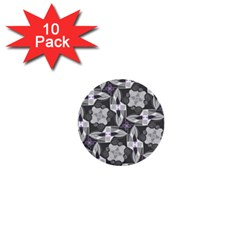 Ornament Pattern Background 1  Mini Buttons (10 Pack)