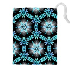Backgrounds Pattern Wallpaper Drawstring Pouch (xxxl) by Pakrebo