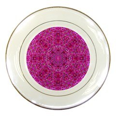 Flowering And Blooming To Bring Happiness Porcelain Plates by pepitasart