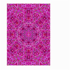 Flowering And Blooming To Bring Happiness Large Garden Flag (two Sides) by pepitasart