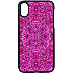 Flowering And Blooming To Bring Happiness Iphone X Seamless Case (black) by pepitasart