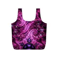 Fractal Art Digital Art Full Print Recycle Bag (s) by Pakrebo