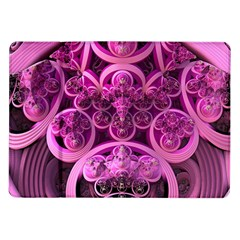 Fractal Math Geometry Visualization Pink Samsung Galaxy Tab 10 1  P7500 Flip Case