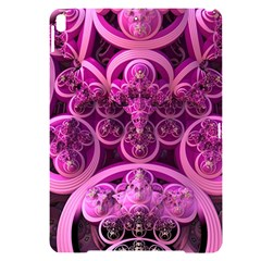 Fractal Math Geometry Visualization Pink Apple Ipad Pro 10 5   Black Uv Print Case