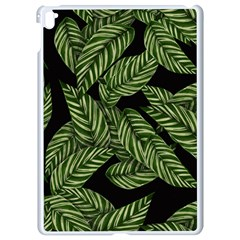 Leaves Pattern Tropical Green Apple Ipad Pro 9 7   White Seamless Case