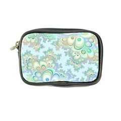 Pattern Background Floral Fractal Coin Purse