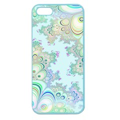 Pattern Background Floral Fractal Apple Seamless Iphone 5 Case (color)