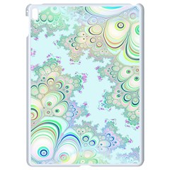 Pattern Background Floral Fractal Apple Ipad Pro 9 7   White Seamless Case
