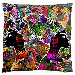 Image 2 Large Flano Cushion Case (one Side) by TajahOlsonDesigns