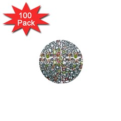 Zappwaits 1  Mini Buttons (100 Pack)