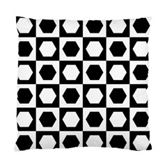 Chessboard Hexagons Squares Standard Cushion Case (one Side)