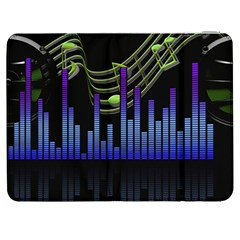 Speakers Music Sound Samsung Galaxy Tab 7  P1000 Flip Case by HermanTelo