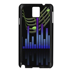 Speakers Music Sound Samsung Galaxy Note 3 N9005 Case (black)