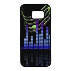 Speakers Music Sound Samsung Galaxy S7 Black Seamless Case by HermanTelo
