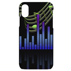Speakers Music Sound Iphone X/xs Black Uv Print Case